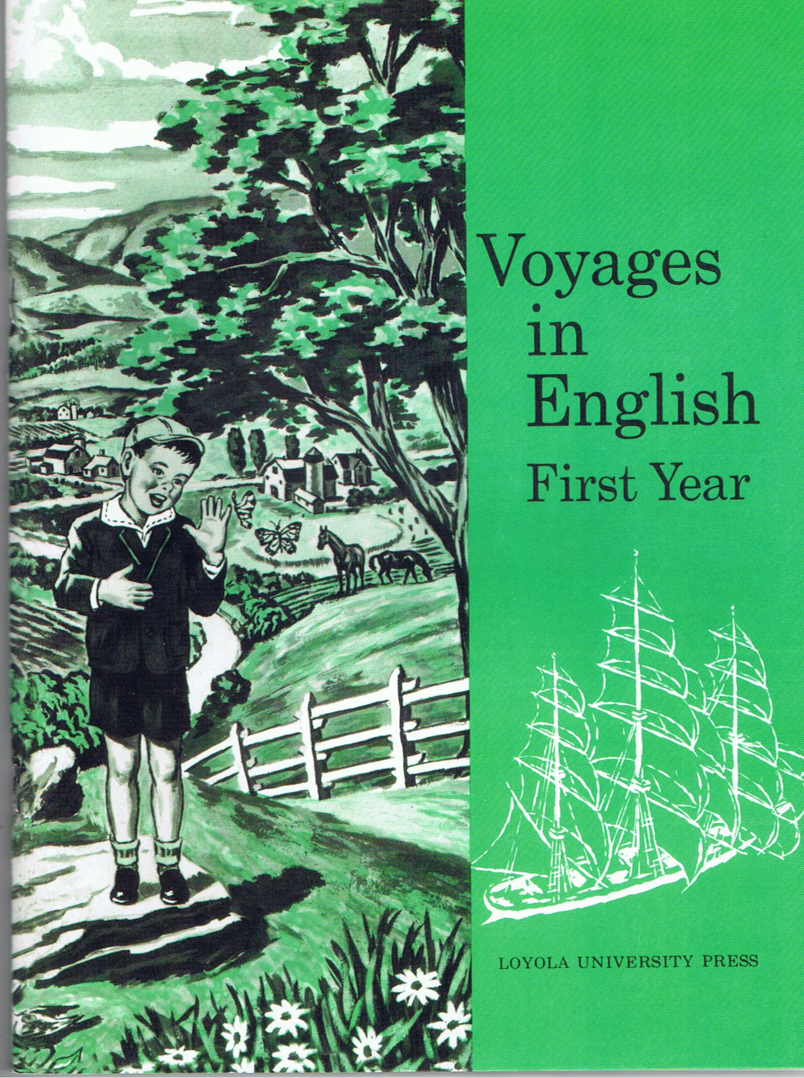 Image for Voyages in English First Year Catholic New