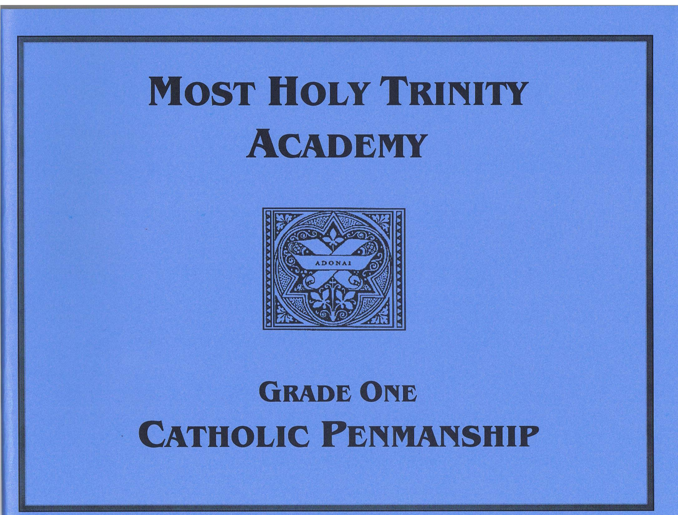 Image for Catholic Penmanship Grade One
