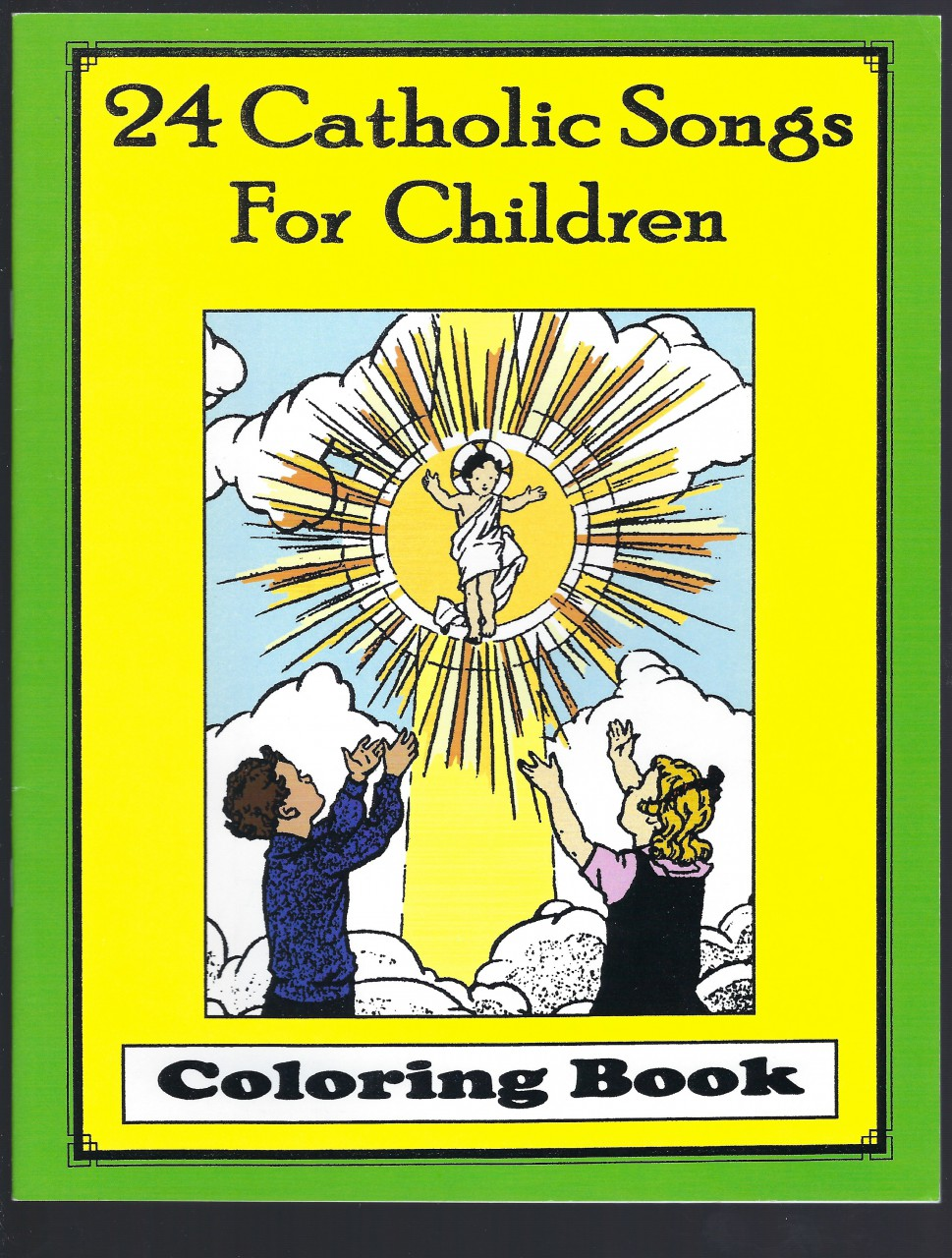 Image for 24 Catholic Songs For Children Coloring Book