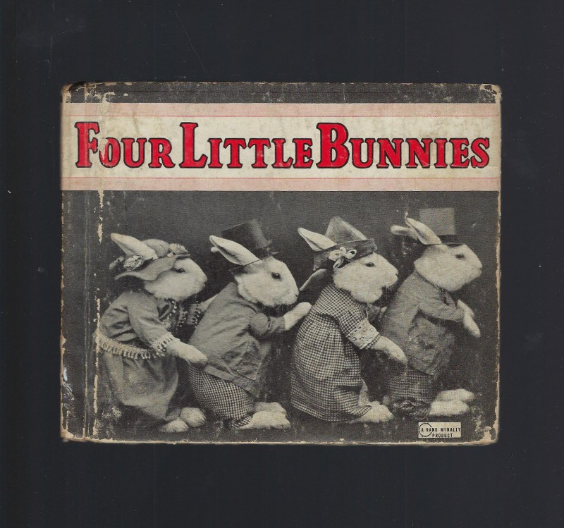 Image for Four Little Bunnies 1940 Vintage Photos