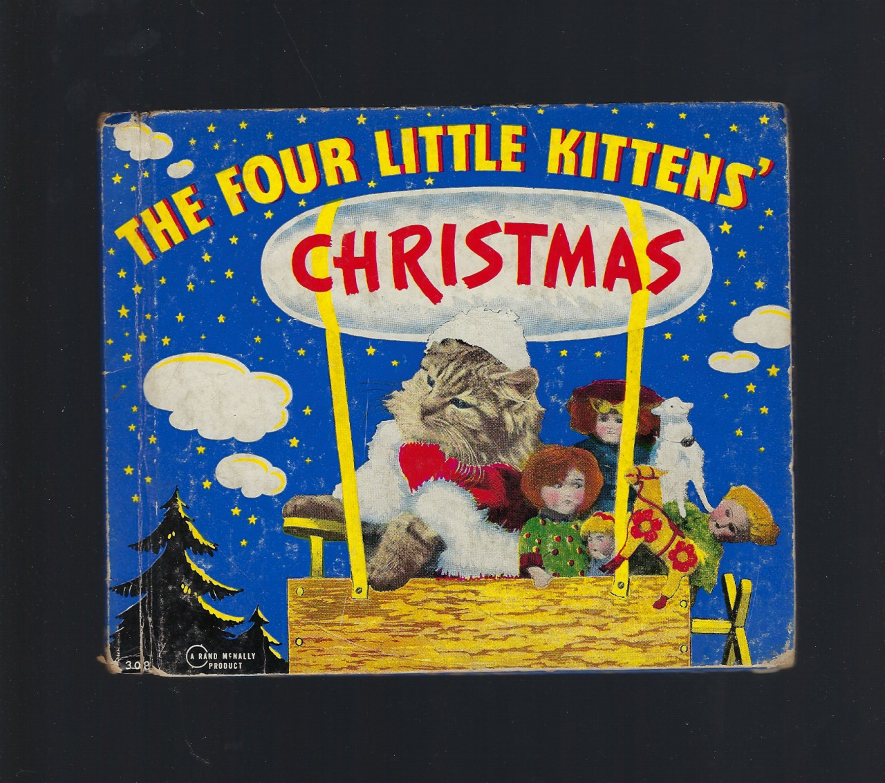 Image for The Four Little Kittens' Christmas 1939 Harry W. Frees