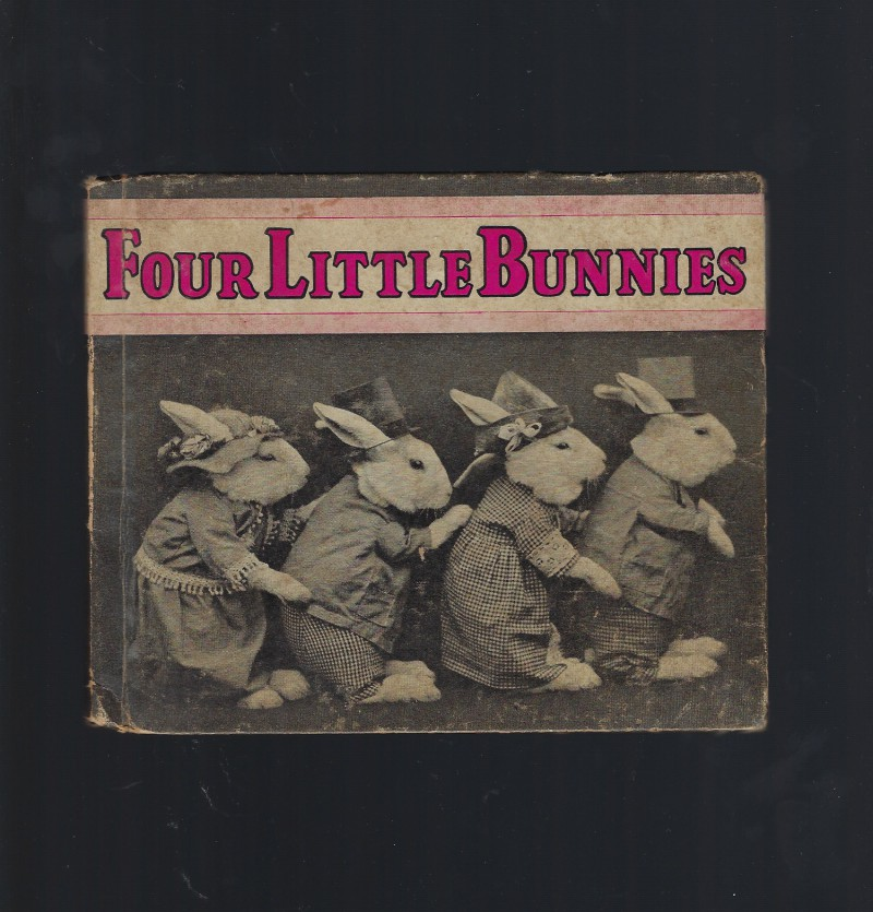 Image for Four Little Bunnies 1935 Vintage Photos
