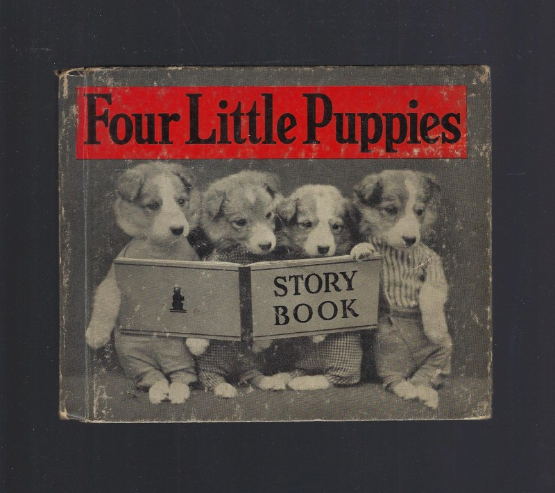 Image for Four Little Puppies Story Book FIRST EDITION 1935 Harry Frees