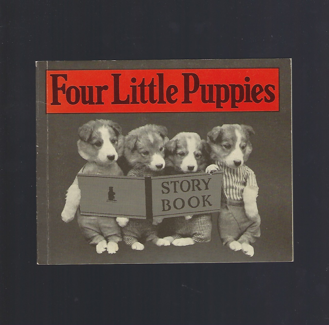 Image for Four Little Puppies Story Book Vintage Reprint Harry W. Frees