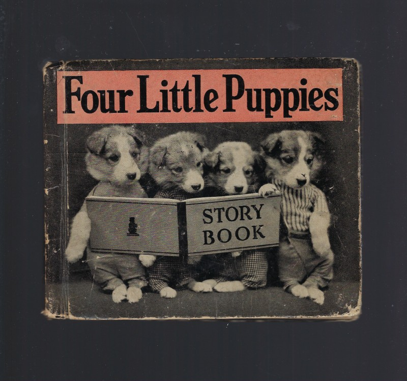 Image for Four Little Puppies Story Book 1936Harry Frees