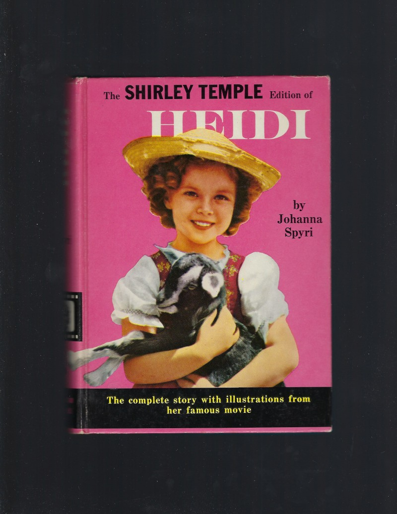 Image for Heidi (The Shirley Temple Edition) First Printing Great Condition!