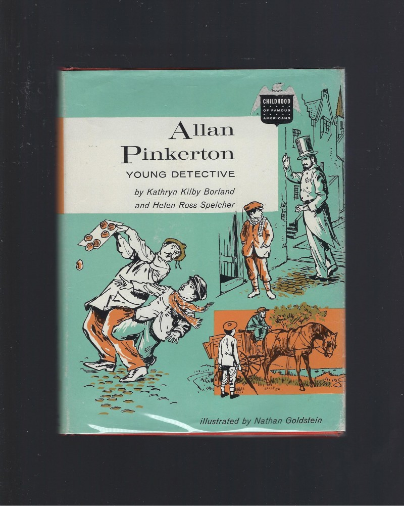 Image for Allan Pinkerton Young Detective (Childhood of Famous Americans Series) 1962 HB/DJ