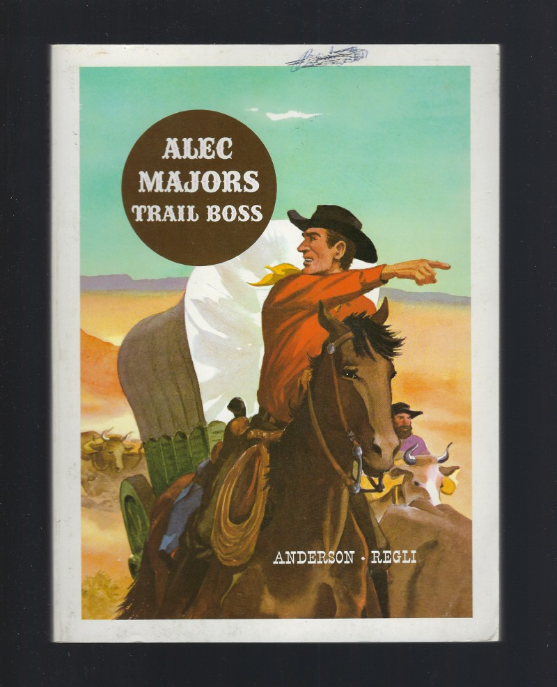 Image for Alec Majors Trail Boss American Adventure Series Softcover 1973