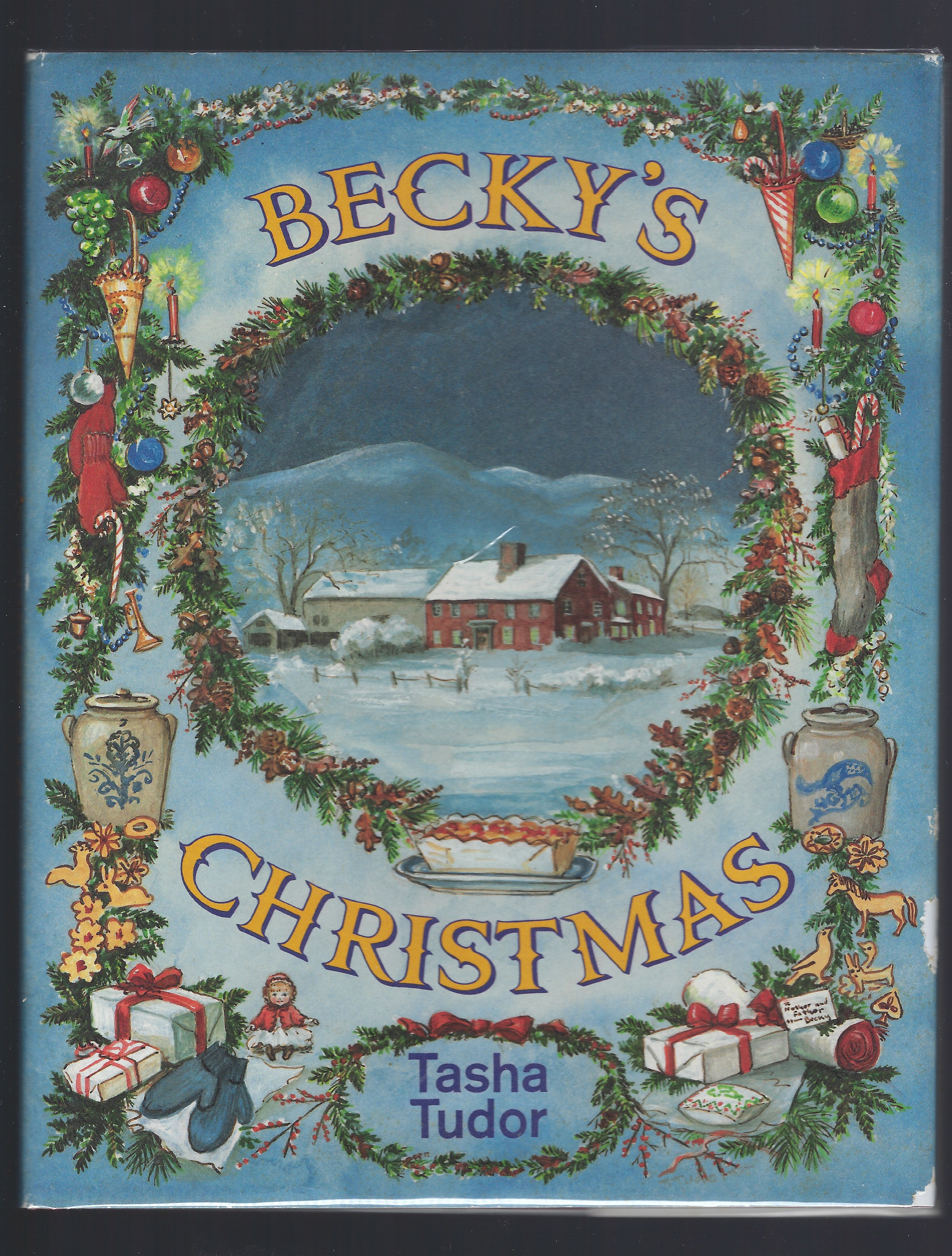 Image for Signed By Tasha Tudor Becky's Christmas 30th Anniversary Edition HB/DJ 1991