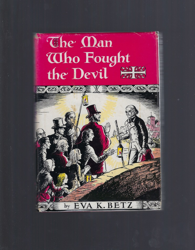 Image for The Man Who Fought The Devil The Cure of Ars HB/DJ 1964