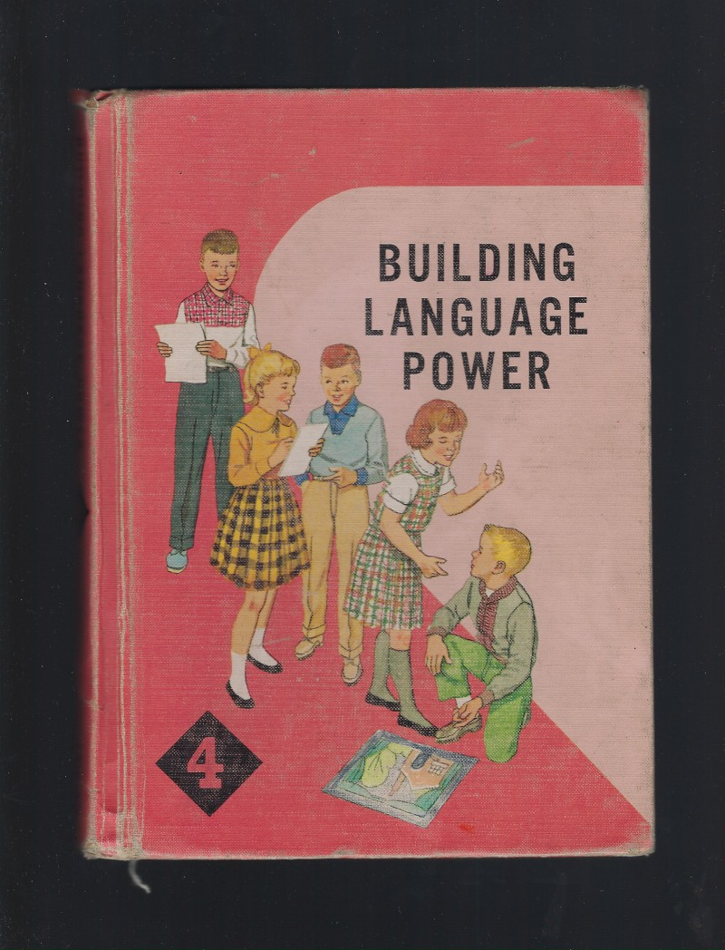 Image for Building Language Power 4 Catholic English Textbook 1961 (1st Print)