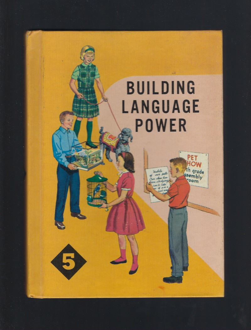 Image for Building Language Power Series #5 1962 (Catholic English Textbook)