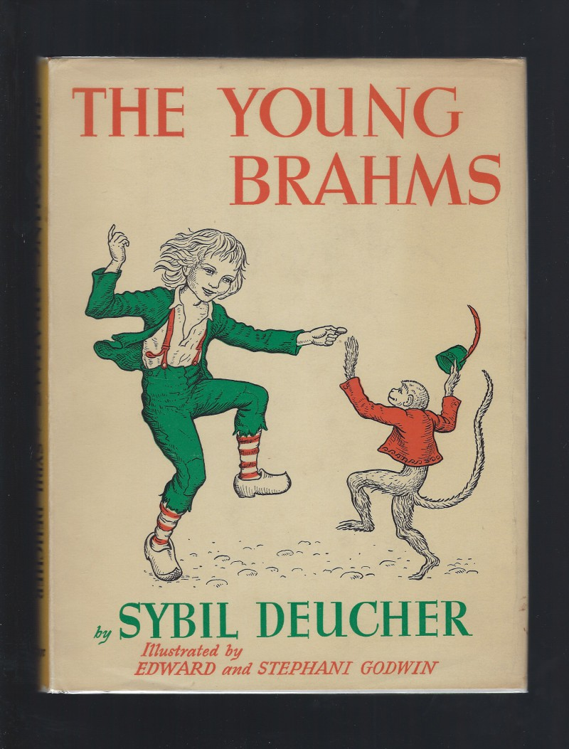 Image for The Young Brahms by Sybil Deucher 1955 HB/DJ