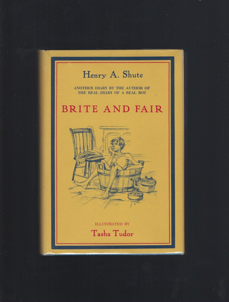 Image for Brite and Fair (Tasha Tudor) A Sequel to the Real Diary of a Real Boy