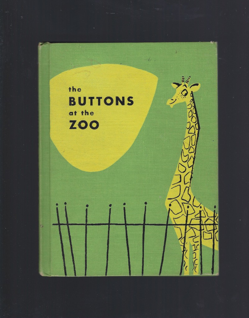 Image for The Buttons At The Zoo Reader (1954)