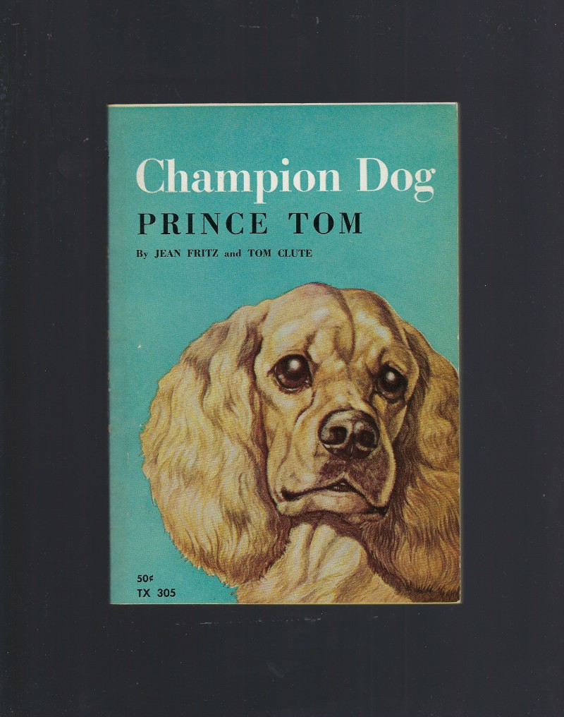 Image for Champion Dog by Jean Fritz 1966 Scholastic Very Nice!