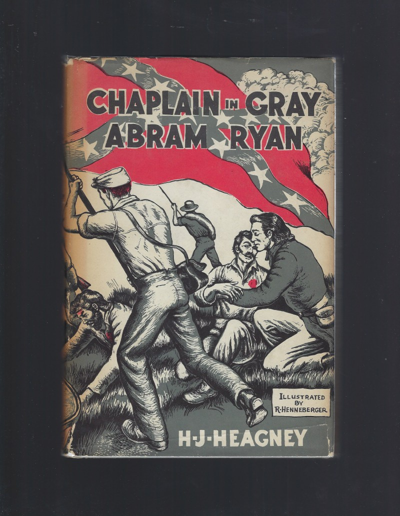 Image for Chaplain in Gray: Abram Ryan 1958 (American Background Books) HB/DJ