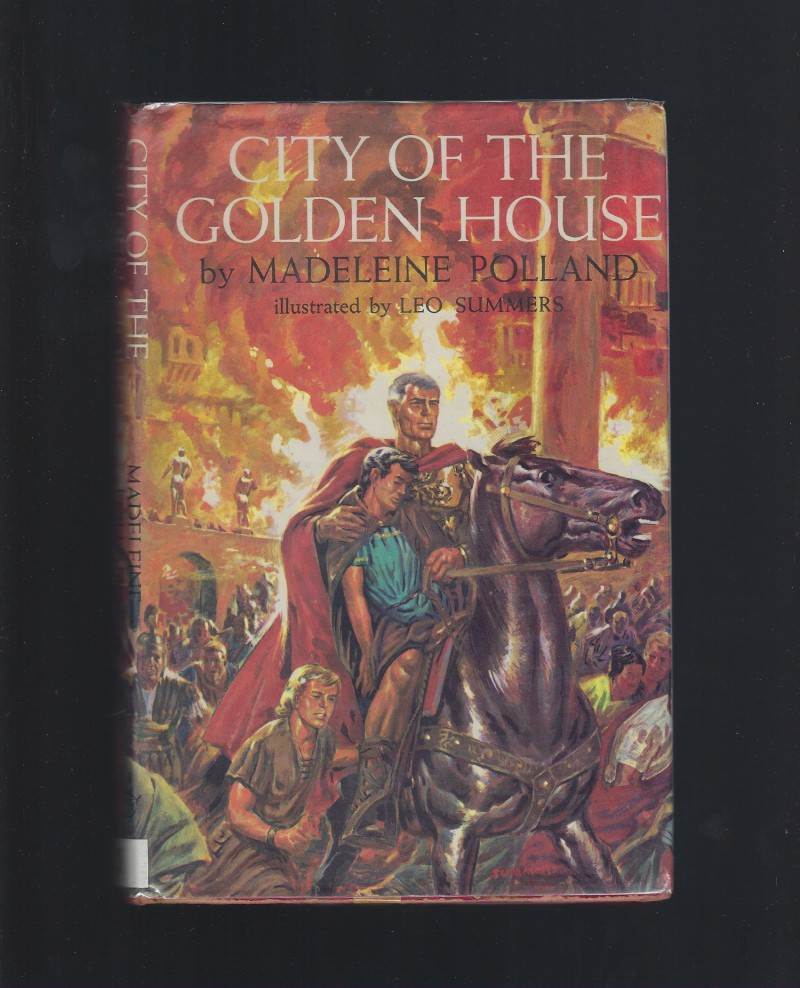 Image for City of the Golden House Madeleine Polland Clarion Book 1963 HB