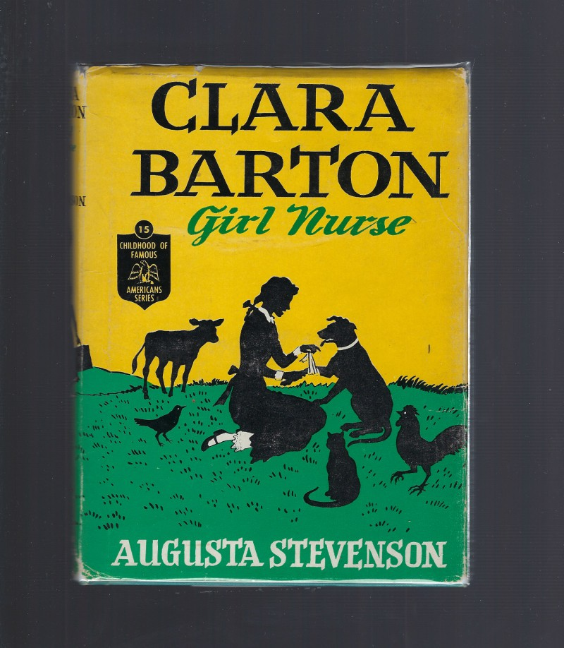 Image for Clara Barton Girl Nurse #15 Childhood of Famous Americans HB/DJ