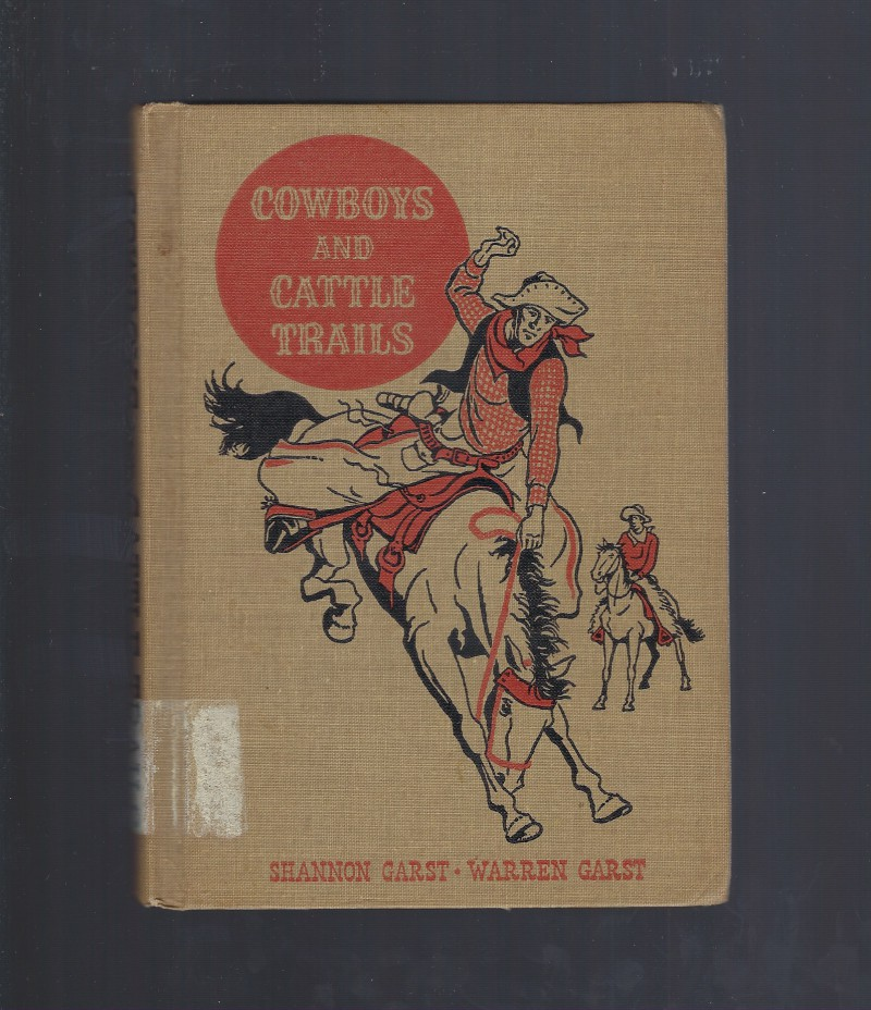 Image for Cowboys and Cattle Trails (The American Adventure Series) 1948