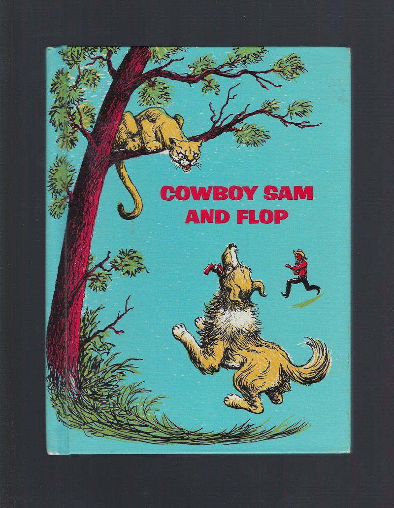 Image for Cowboy Sam and Flop Reader 1971