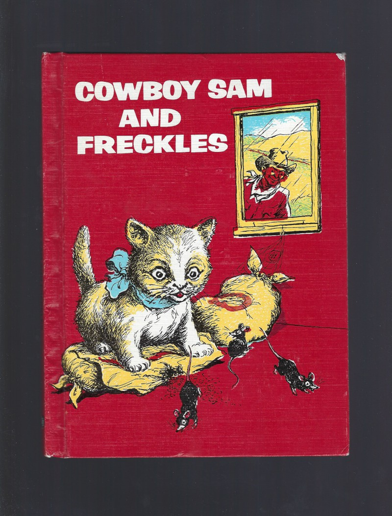 Image for Cowboy Sam and Freckles Reader 1971