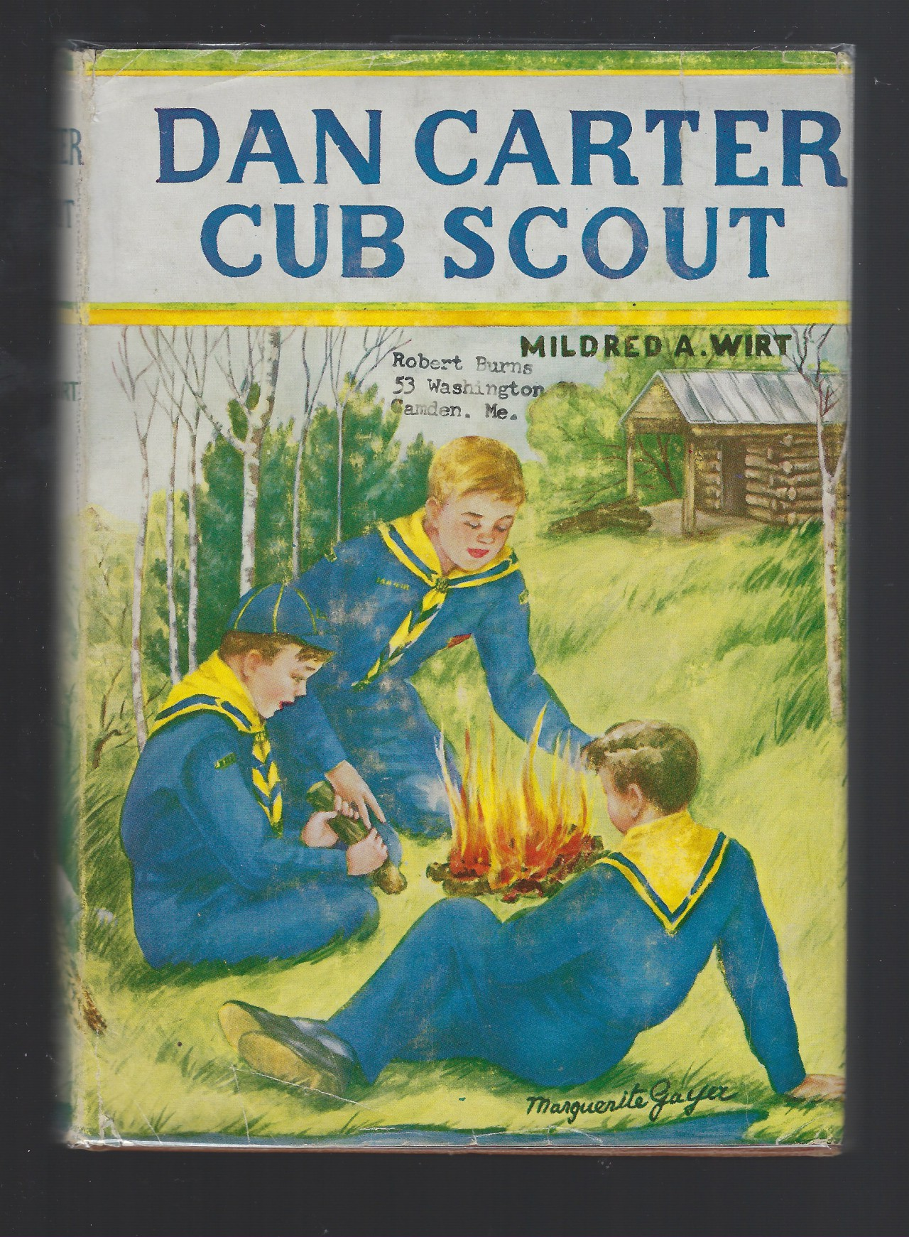 Image for Dan Carter Cub Scout #1 Mildred Wirt Nancy Drew HB/DJ