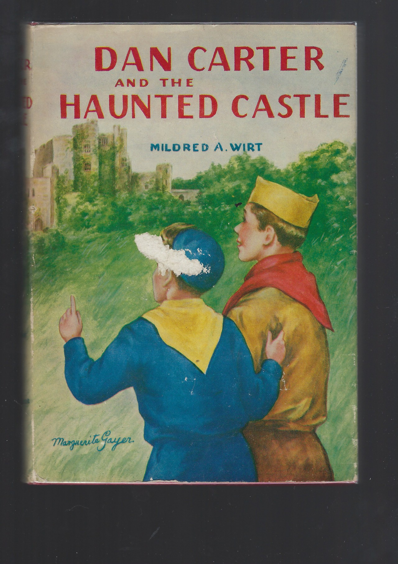 Image for Dan Carter and the Haunted Castle #4 HB/DJ Mildred Wirt Nancy Drew Author
