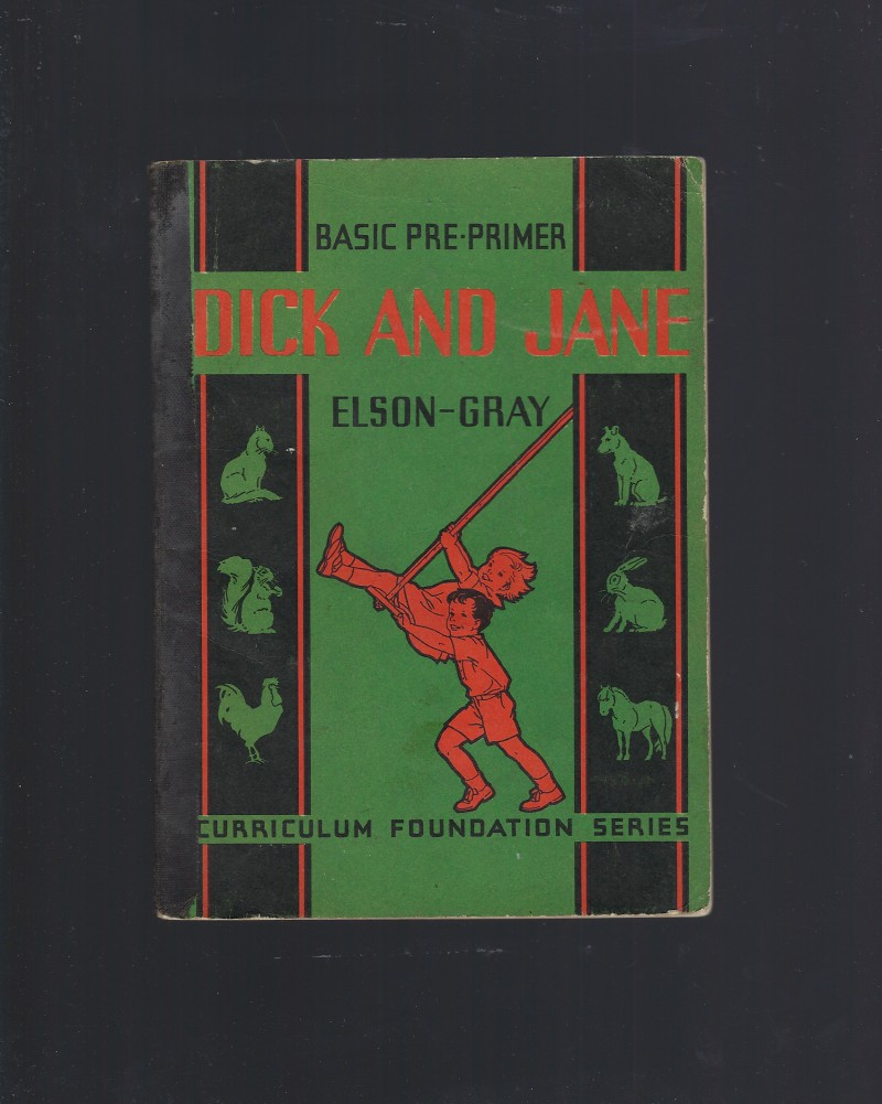 Image for Dick and Jane Basic Pre-Primer 1936 Elson-Gray (Curriculum Foundation Series)