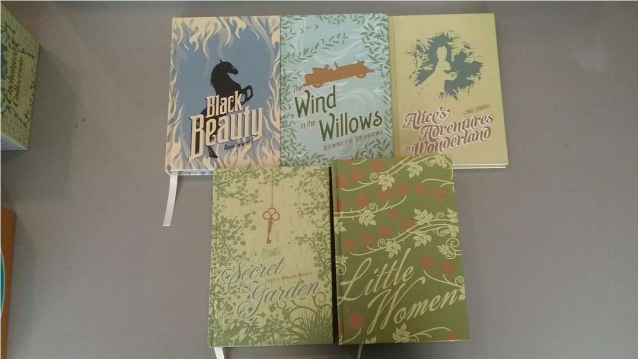 Image for The Enchanted Collection: Five New Classics: The Secret Garden, Little Women, Black Beauty, The Wind in the Willows, Alice's Adventures in Wonderland (The Heirloom Collection)