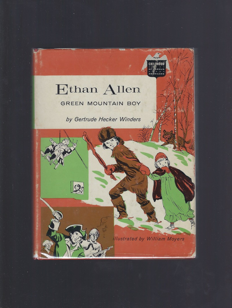 Image for Ethan Allen Green Mountain Boy (Childhood of Famous Americans) hb/dj 1962