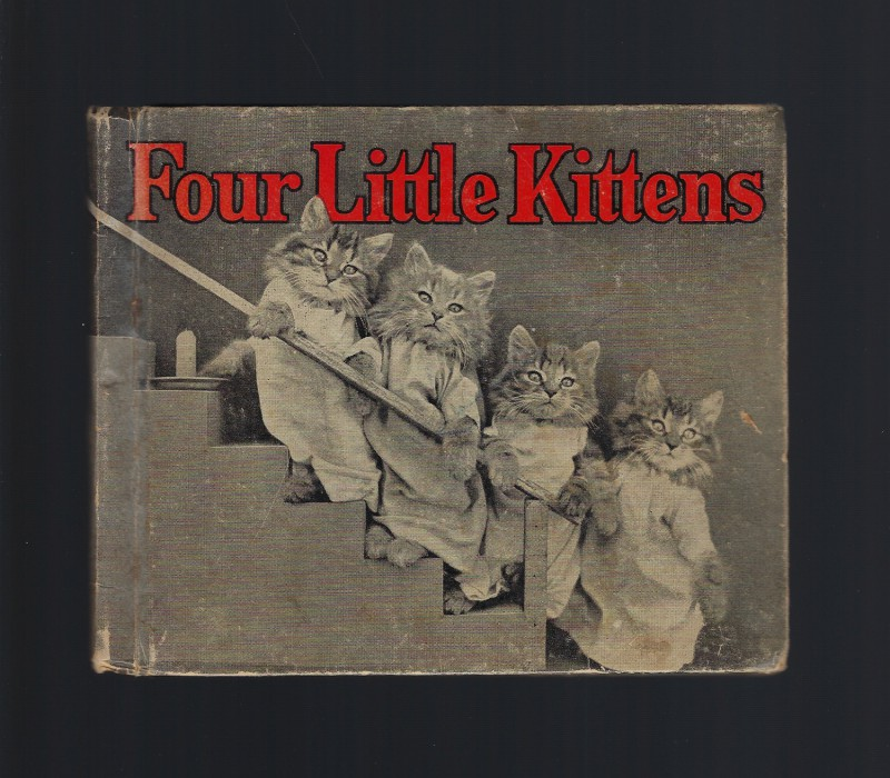 Image for Four Little Kittens Vintage Hardback (1936) Harry W Frees