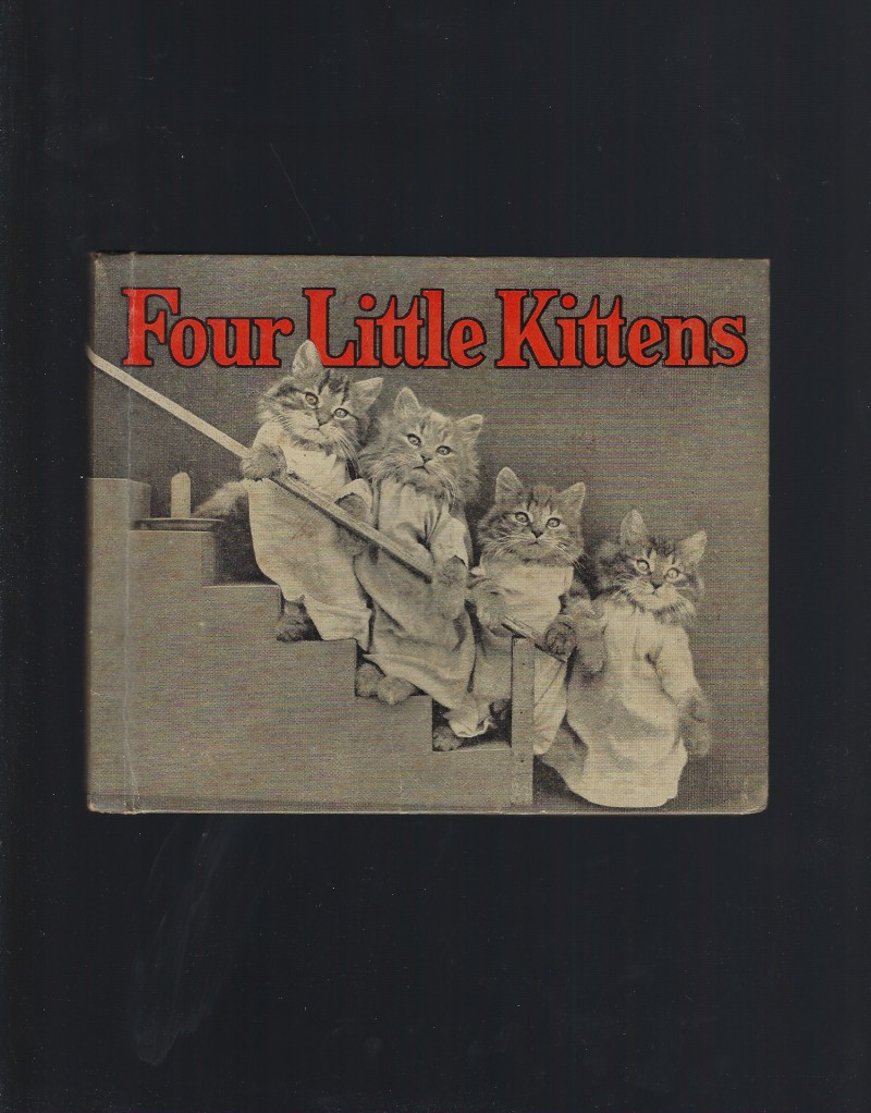 Image for Four Little Kittens 1936 Hardback Harry W Frees