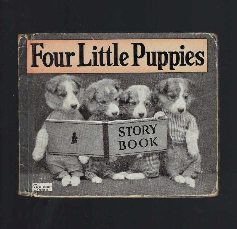 Image for Four Little Puppies Story Book 1939 Harry Frees