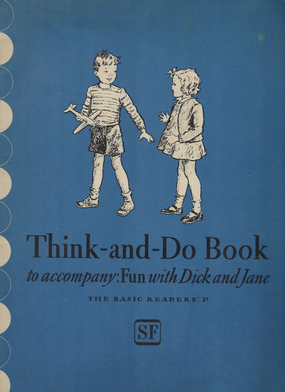 Image for Think and Do Book Fun With Dick and Jane 1941 (World War II)