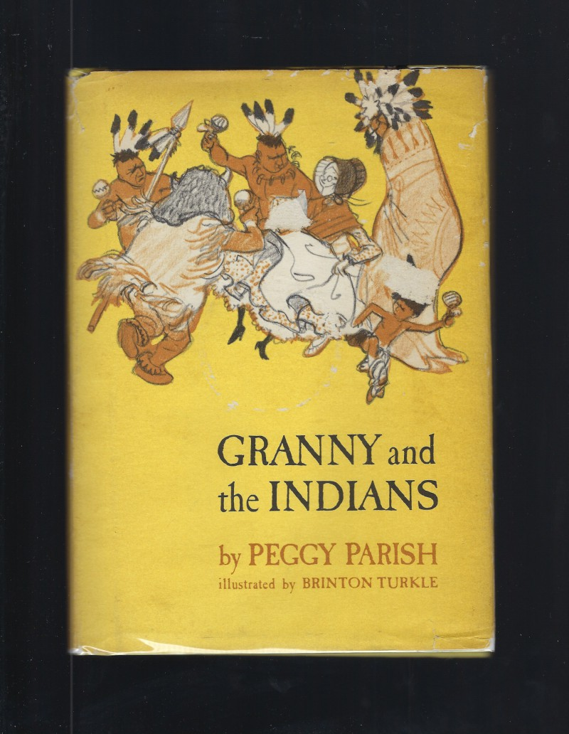 Image for Granny and the Indians Peggy Parish 1970 HB/DJ