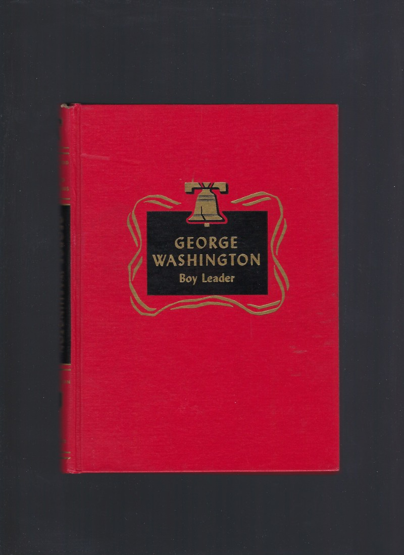 Image for George Washington Boy Leader Childhood of Famous Americans Spencer Press