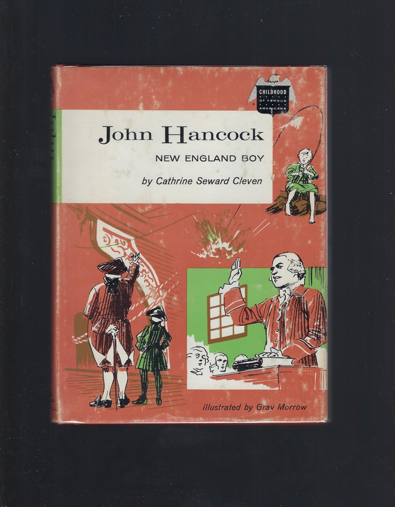 Image for John Hancock New England Boy Childhood of Famous Americans 1963 HB/DJ