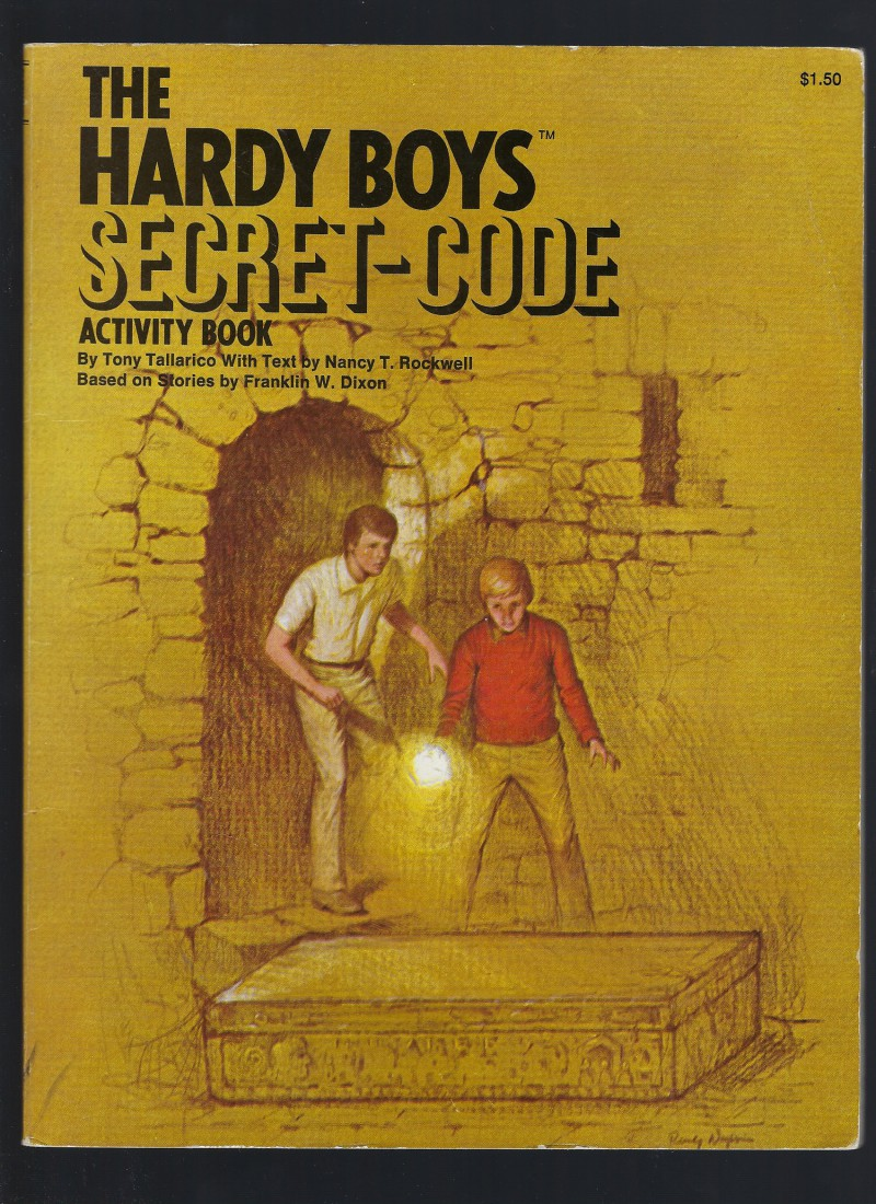 Image for Hardy Boys Code Activity Book (1978)