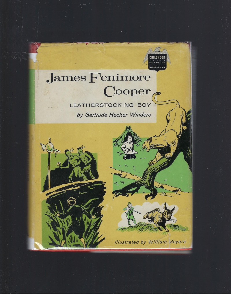 Image for James Fenimore Cooper Leatherstocking Boy (Childhood of Famous Americans) 1962 HB/DJ