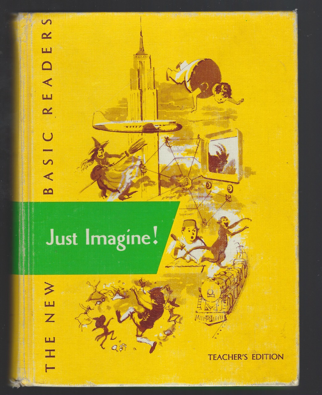 Image for Just Imagine! 1962 Teachers Edition Dick and Jane First Printing New Basic Readers