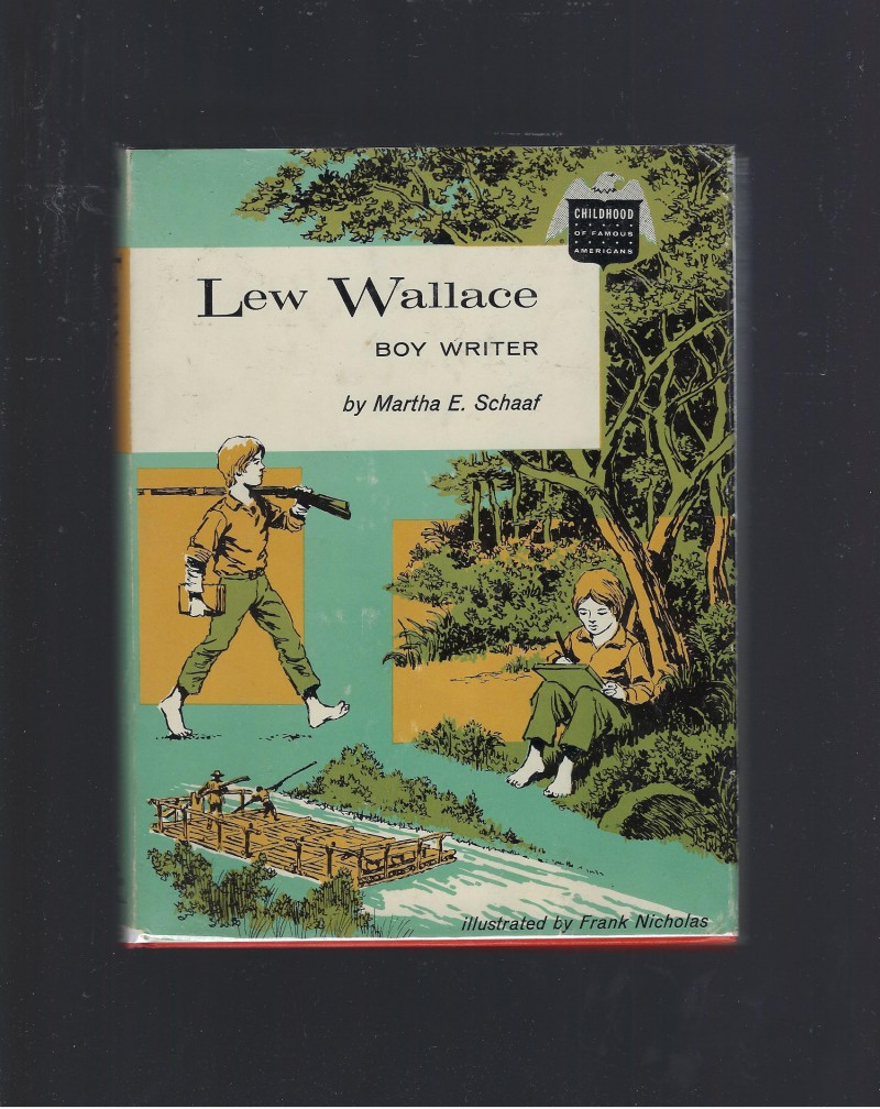 Image for Lew Wallace Boy Writer Childhood of Famous Americans 1961 HB/DJ