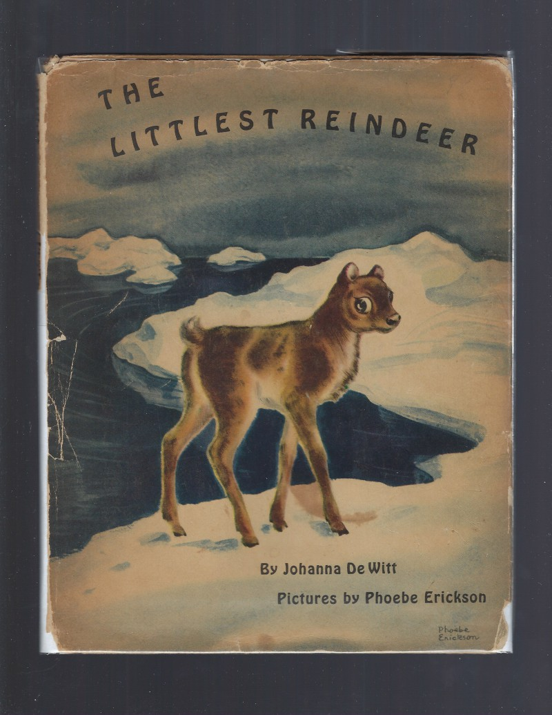 Image for The Littlest Reindeer 1946 1st Edition HB/DJ