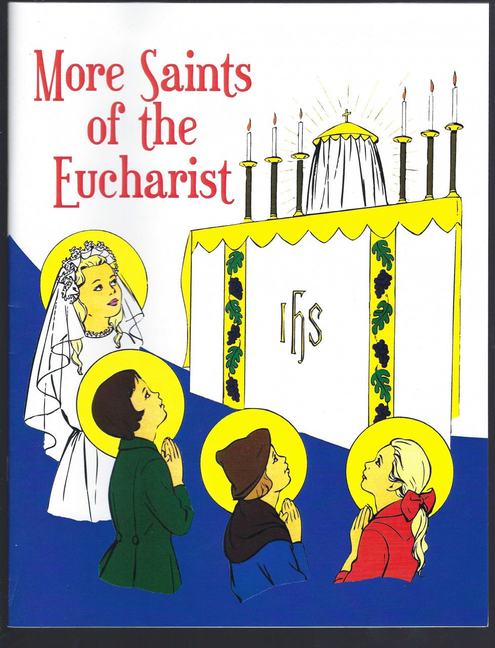 Image for More Saints of the Eucharist (Children's Book on Four Saints)
