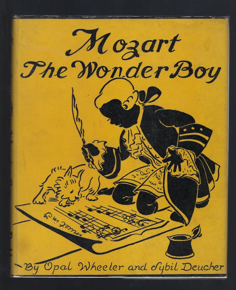 Image for MOZART The Wonder Boy Opal Wheeler 1938 HB/DJ