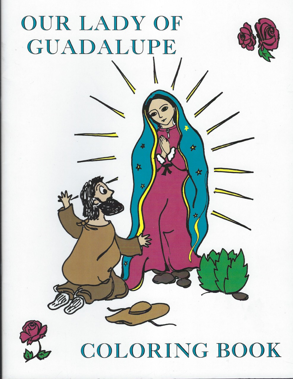 Image for Our Lady of Guadalupe Coloring Book