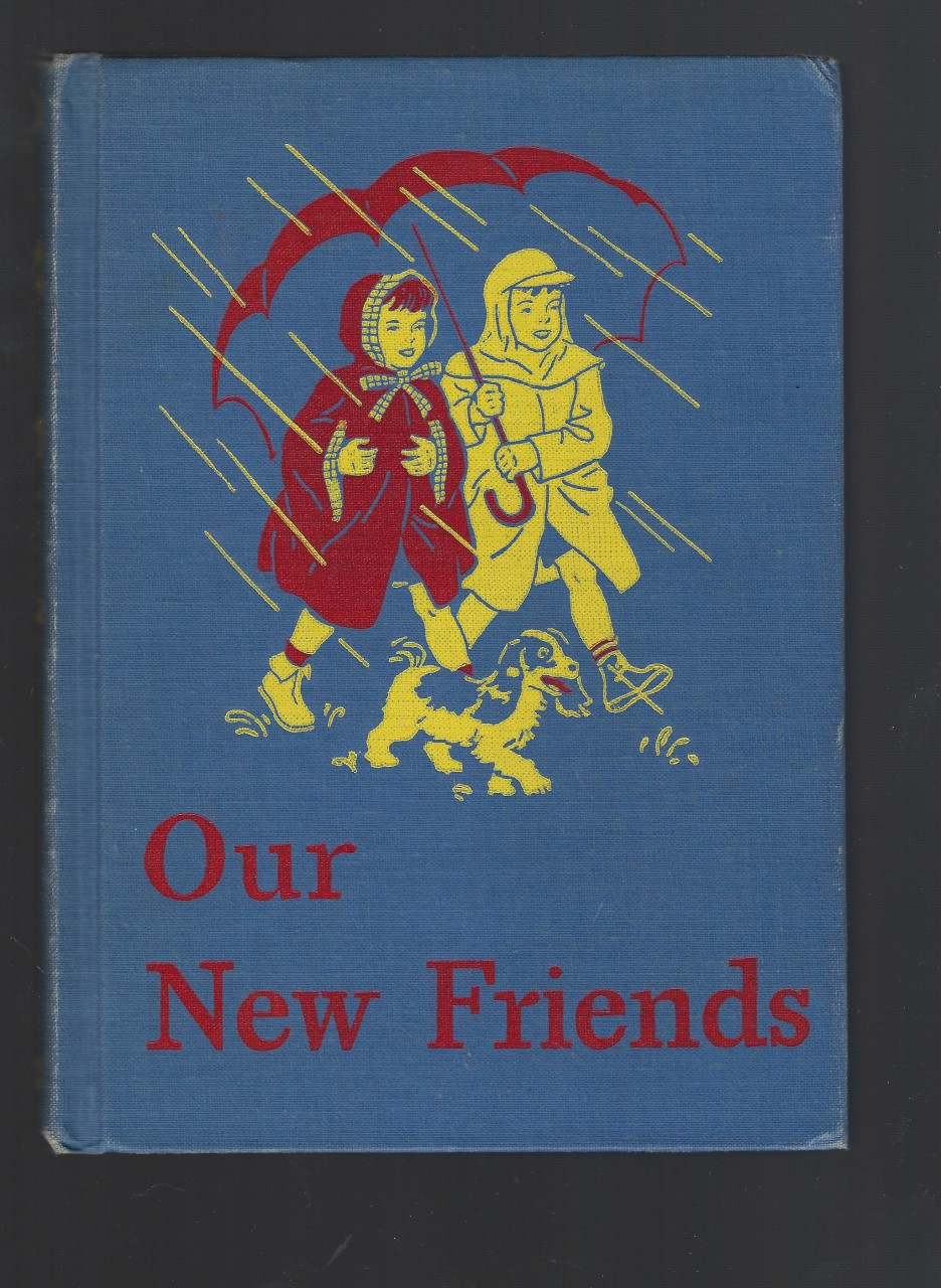 "Image for Our New Friends - Dick and Jane 1946-47 Ed w ""Dark Pony"" / ""Sleepy Town"""