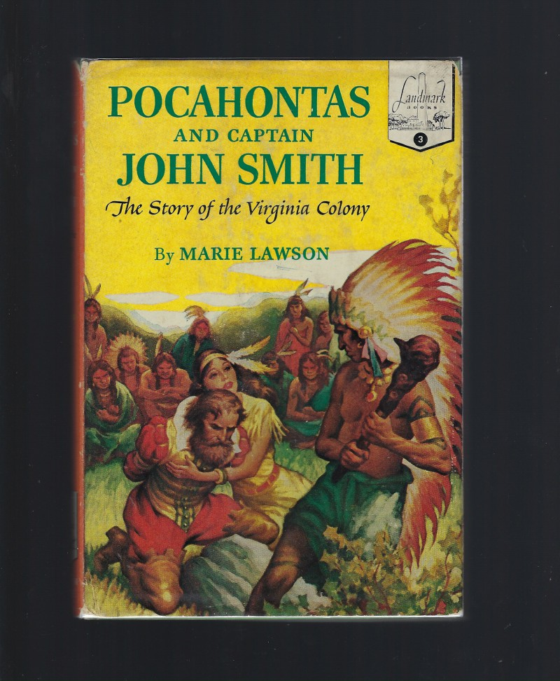 Image for Pocahontas and the Captain John Smith Landmark #3 The Story of the Viginia Colony HB/DJ