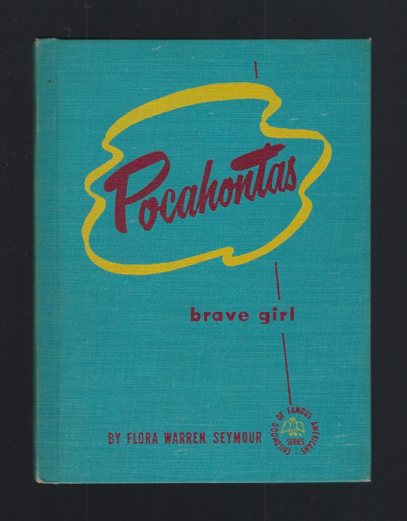 Image for Pocahontas Brave Girl (Childhood of Famous Americans Series) HB Very Nice!