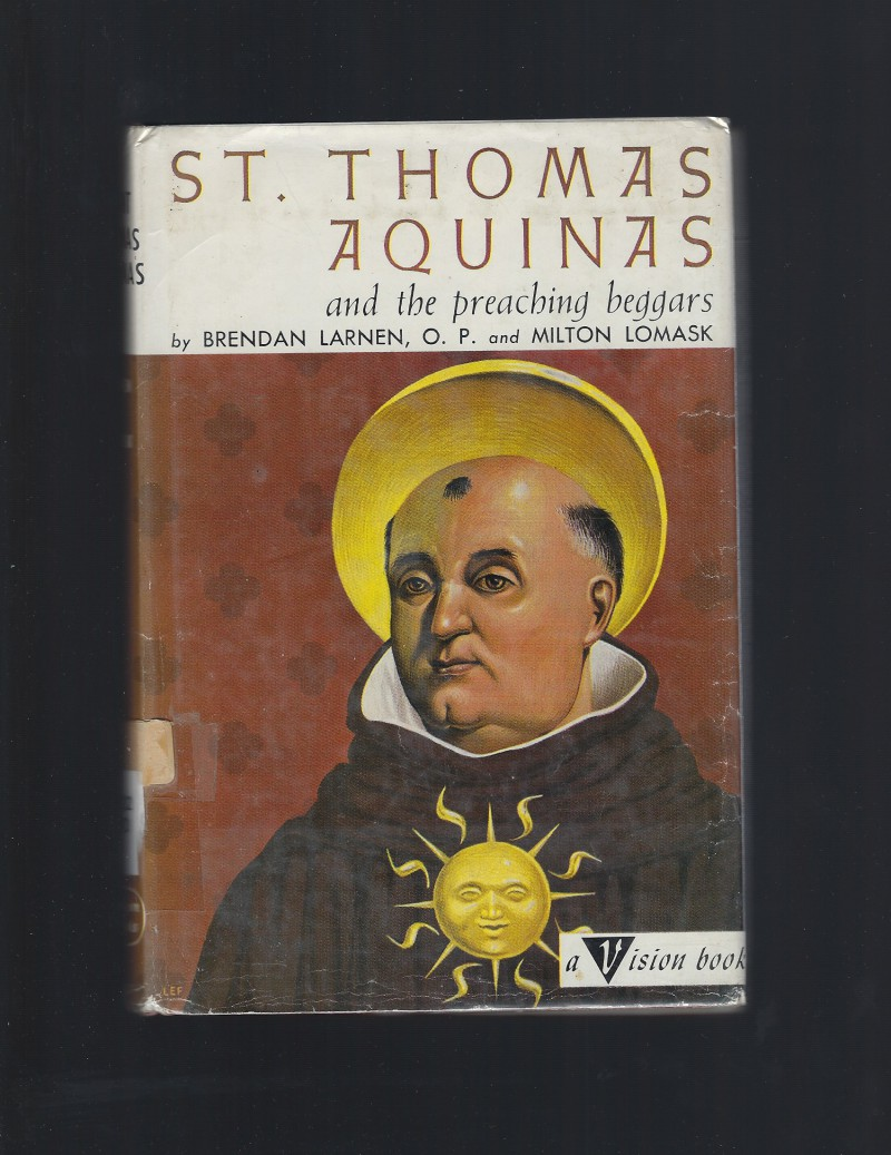 Image for St. Thomas Aquinas and the Preaching Beggars Vision Books HB/DJ